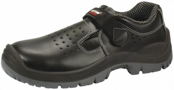 S1P Craftland Sandalen Sues schwarz