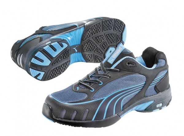 Puma S1 Arbeitsschuh Fuse Motion Blue