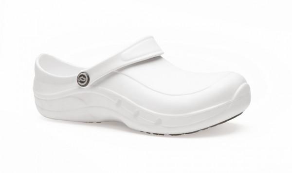 EziProtekta® Clogs mit Schutzkappe weiß