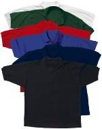 Poloshirts in weiß, schwarz, blau, rot,