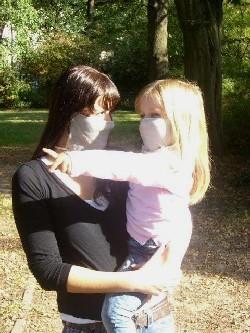 Mundschutz gegen Sporen und Viren