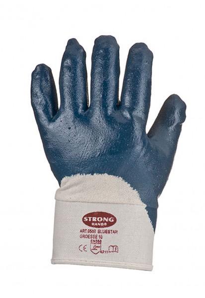 Blaue Nitrilhandschuhe 0563