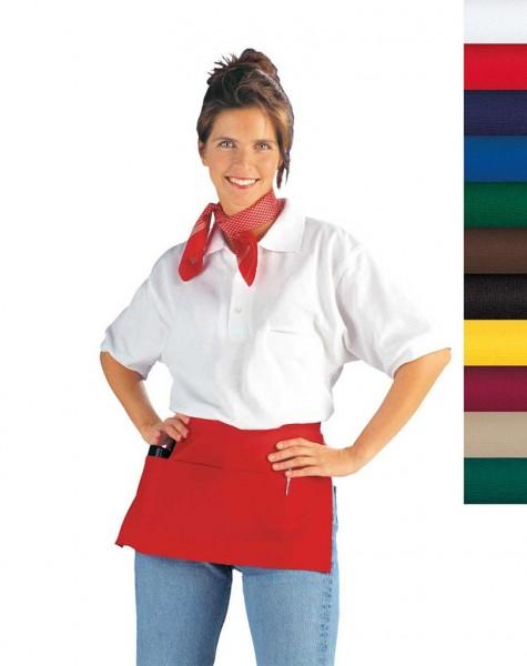Gastro- Taschenschürze rot 11/434