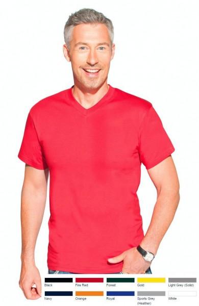 Premium T-Shirts V-Ausschnitt Promodoro