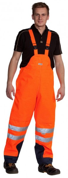 OCEAN HIGH-VIS MULTINORM-Latzhose orange
