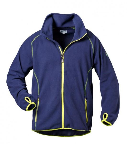 Fleece- Jacke marine gelb 23360