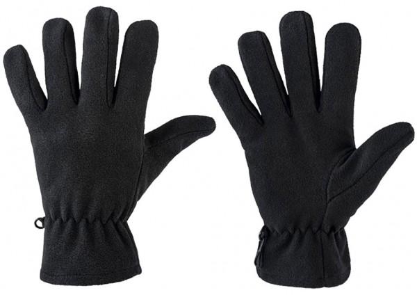 Winterhandschuhe POLAR aus Fleece black